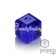 5600 Austria 6x6mm Crystal Loose Beads About 100Pcs Cube Square Jewelry Making