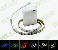 Led Strip Light + Battery Box Waterproof Super Bright for Bike Bicycle Car