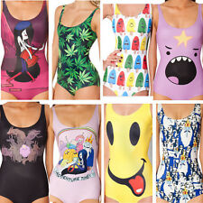 New Hot Sexy Beachwear One-Piece Monokini Bikini Swimwear Bathing Cartoon Suit