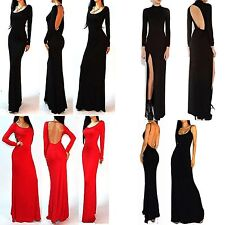 4 Style Vintage pinup Celeb Bodycon Party Evening Prom Long Pencil Dress XS-L