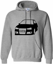 KIDS VW GOLF PERSONALISED HOODIE  CAR HOODY WITH NAME HOODED SWEAT AGE 5-15