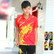 NEW Li Ning men's table tennis clothing/Badminton Set shirt+shorts 1036A
