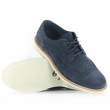 Timberland Earthkeepers Stormbuck 5831R Brogue Men's Oxford Casual Shoes Navy NI