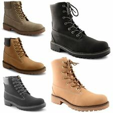 Ladies Womens Walking Hiking Boots Trainers Ankle Lace Up Work Shoes Size UK 3-8