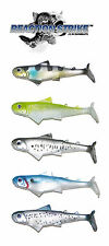 "REACTION STRIKE KILLER B SWIMBAIT  6.5"" (2 PACK)  select colors"