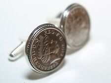 Wedding Anniversary Cufflinks. Fruit wood candy pottery steel silk lace ivory