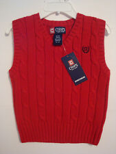 """BOYS CHRISTMAS OR HOLIDAY SWEATER VEST BY  """"CHAPS""""  SPORTSWEAR  SIZE 4  NWT"""