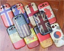 Classical Retro Multi National Flag Hard Case Cover For Samsung Galaxy S3 i9300