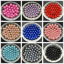 European Glass Loose Pearl Beads 4mm 6mm 8mm 10mm 12mm 14mm 16mm