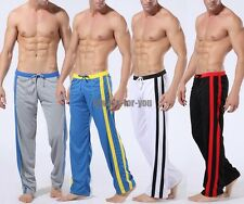 Men's Low Rise Sport Sweat Pants Gym Athletic Slim Fit Pants Lounge Trousers Gen