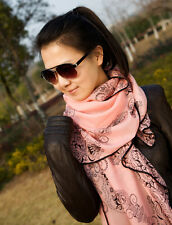 Women Long Print Scarf Wrap Ladies Shawl Girl Large Pretty Scarf 130*80 (cm)