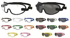 NEW- KROOPS TRIPLE SLOT Jockey Horse Racing Riding Goggles | Choice of Trims
