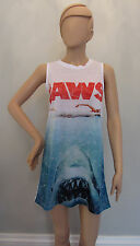 Official JAWS Universal Studios Movie Sleeveless Vest T Shirt Dress from Primark