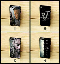 Vikings Series Ragnar Lothbrok Warrior Logo Case Cover For iPhone 4 4s 5 s 5c 6