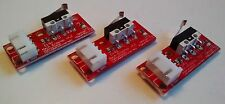 3D Printer Endstop Switch on PCB & Cable - Mechanical Lever Microswitch - Reprap