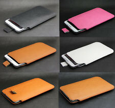 Litchi Leather Pouch Sleeve Case For Samsung Galaxy Note 2/3/Note 4/N7505/G7106