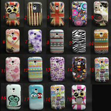Owl Tribal Pattern Tpu Gel Soft Skin Case Cover For Samsung Galaxy S Duos S7562