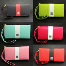 Deluxe Rainbow Wallet Leather Case Cover Bag For Samsung Galaxy Ace 2 II i8160