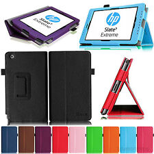 Flip Leather Stand Cover Case for HP Slate 7 Extreme (Model 4400) 7-inch Tablet