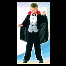 COSTUME Child's VAMPIRE Cloak Dickie Shirt & tie Small Med or Large