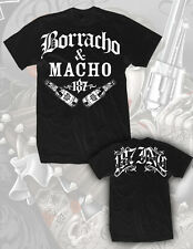 BORRACHO & MACHO MENS SHIRT 187 INC