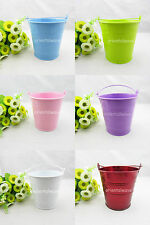 "Mini Buckets Candy Favours Pail Bucket Wedding Party Gifts You pick 4.3"" Depth"