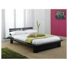Hartford Chocolate Double Bed Frame With or Without Mattress - Free UK Delivery
