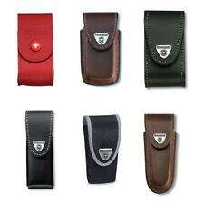Genuine Victorinox Swiss army knife belt pouch - various colours