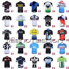 Saxo Bank Castelli Short Sleeve Bicycle Bike Cycling Clothing Sports Jersey Tops