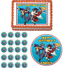 BEYBLADE  Edible Cake Topper Cupcake Image Decoration Birthday Party