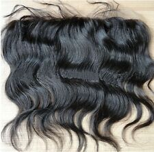"Brazilian human Hair Extension 13""x4"" Lace frontal Closure body wave Bleach Knot"