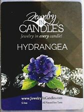 HYDRANGEA  -  JEWELRY IN CANDLES Tart = RING SIZE 8