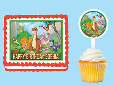 LAND BEFORE TIME Edible Cake Topper Cupcake Image  Decoration Birthday Party