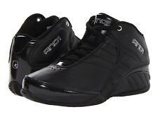 AND1 Kids Youth D1051BBBS Rocket 3.0 Mid Basketball Shoes [ Black / Silver ]