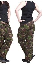 Ladies DPM Woodland Camouflage British Combat trouser,
