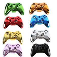 8 Color Plating Wireless Controller Case Shell Cover + Buttons for XBOX 360