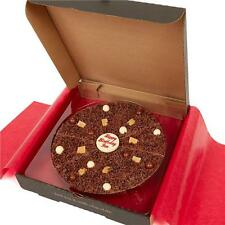 "Personalised Gourmet Chocolate Pizza Gift 7"" or 10"" Birthday Congratulations etc"