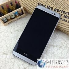 Free shipping Non-working Dummy Display Phone Fake black screen For HTC One M8