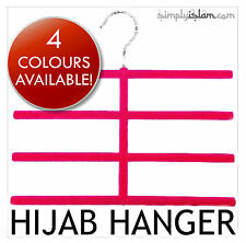 Luxury Scarf Hanger Hijab Organiser - Hang without Crumpling! Islam