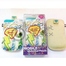 SUPERGIRL MOBILE PHONE UNIVERSAL POUCH FOR BB CURVE APPLE IPHONE 3GS IPHONE 4 4S