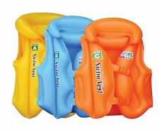 Children Kids Swimming Aid Inflatable Floating Life Jacket Vest Age 1-8 3 COLORS