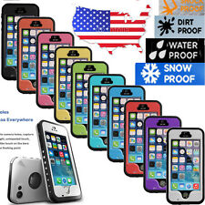 Waterproof Shockproof Fingerprint Scanner ID Case Cover for Apple Iphone 5 5C 5S