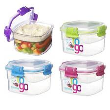 Sistema Plastic Air Tight Snack to go Lunch Box Food Container 400ml BPA Free