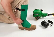 Shin Guard Leg Protection From Flying Debris When Using Lawn Equipment