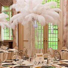 10-100pcs Natural Ostrich Feathers 6-8inch/15-20cm Wedding Decoration Multicolor