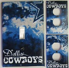 Dallas Cowboys custom Light Switch wall plate covers man cave room decor