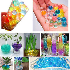 10bags Magic Crystal Soil Water Beads Flower Planting Wedding Home Vase Decor