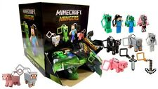 "Minecraft Hangers 3D Figures 3"" Keyring Bag, Belt Clip, CHOOSE YOUR OWN"