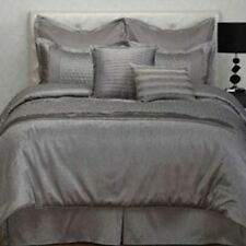 JCPenney by Stratford Park ONTARIO QUEEN Comforter 8 Piece Set Retail $260 GRAY