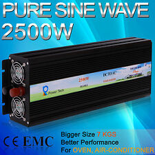 Power Inverter12V to 120V,300W500W600W800W1000W1500W2000W2500W Pure Sine Wave